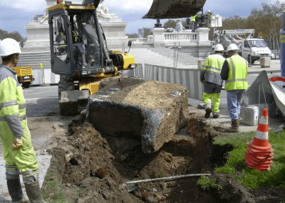 Dévoiement des canalisations aux Quinconces – Bordeaux (33)