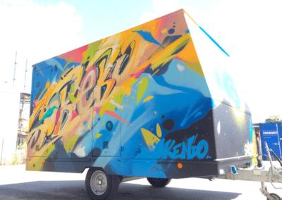 Sobebo habille ses roulottes chantier par Kendo