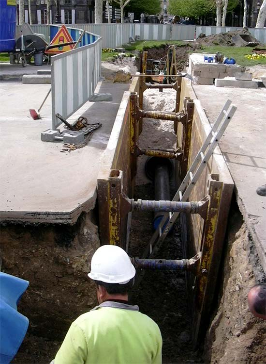 renouvellement et dévoiement de canalisations d'eau potable sobebo